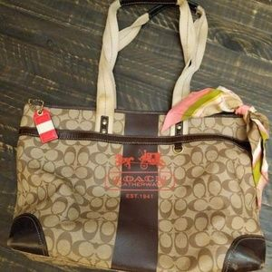 Coach Diaper Bag Large